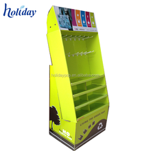 Stationery Retail Store Paper Cardboard Floor Display Stand,Stationary Display Rack,Cardboard Pen Display Stand