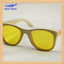Alibaba china most popular handcraft bamboo glasses