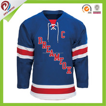 China factory lightweight customized hockey jersey nhl