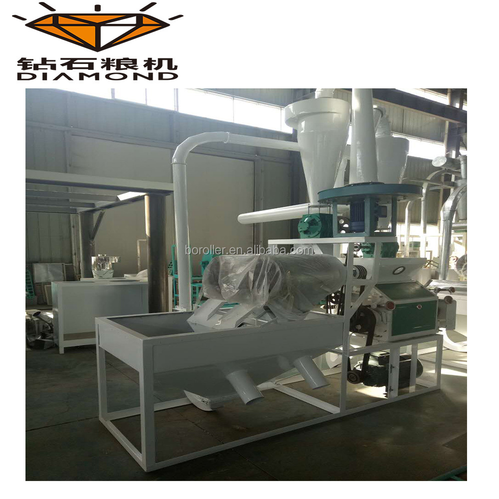 small mobile crusher flour mill machine