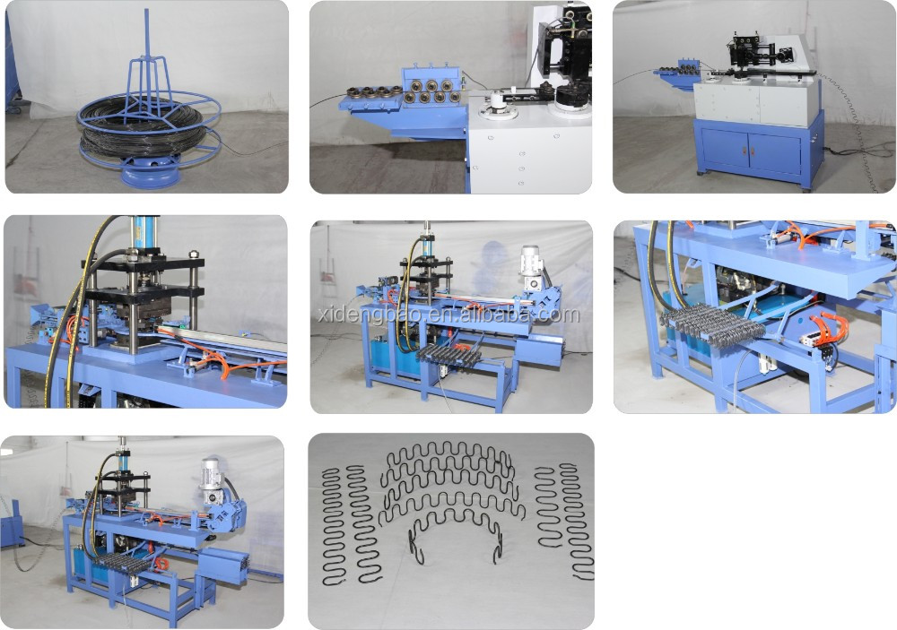SF-LING S-Shape Spring Curving Machine