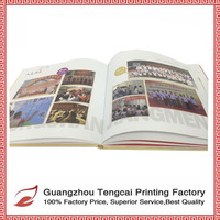 Cheap hardcover books printing for free sample in different color