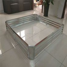 galvanized zinc coated indoor planter boxes / Australia designs modular planter boxes
