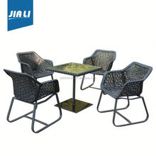 All-season performance factory supply synthetic rattan outdoor furniture