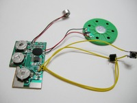 Voice recording chip, sound chip and music chip for toys and greeting cards