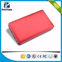 Best quality portable 10000mah dual usb power bank case for samsung galaxy s4