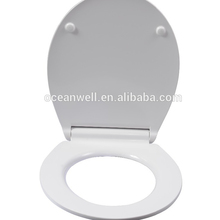 Super slim duroplast WC toilet seat cover with soft close and quick release for bathroom