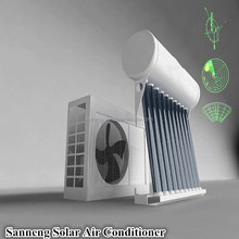 The high efficiency hybrid solar air conditioner