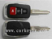 Top quality Proton 2+1 button remote car key shell