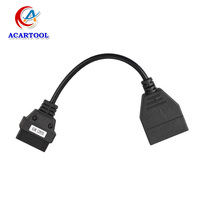 Newest OBD/OBD2 Connector GM 12 Pin Adapter to 16Pin Diagnostic Cable GM 12Pin For GM Vehicles