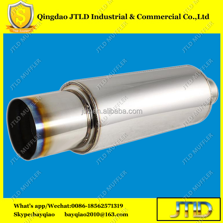 High quality titanium Car Exhaust Muffler for HKS