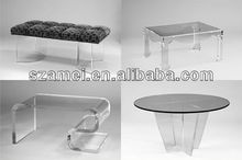 High Quality Clear Acrylic Television Table/Coffee Table Wholesales Manufacturer