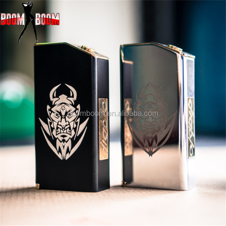 china wholesale e-cigs low price el diablo box mod wood mechanical mod rebuildable baal el diablo