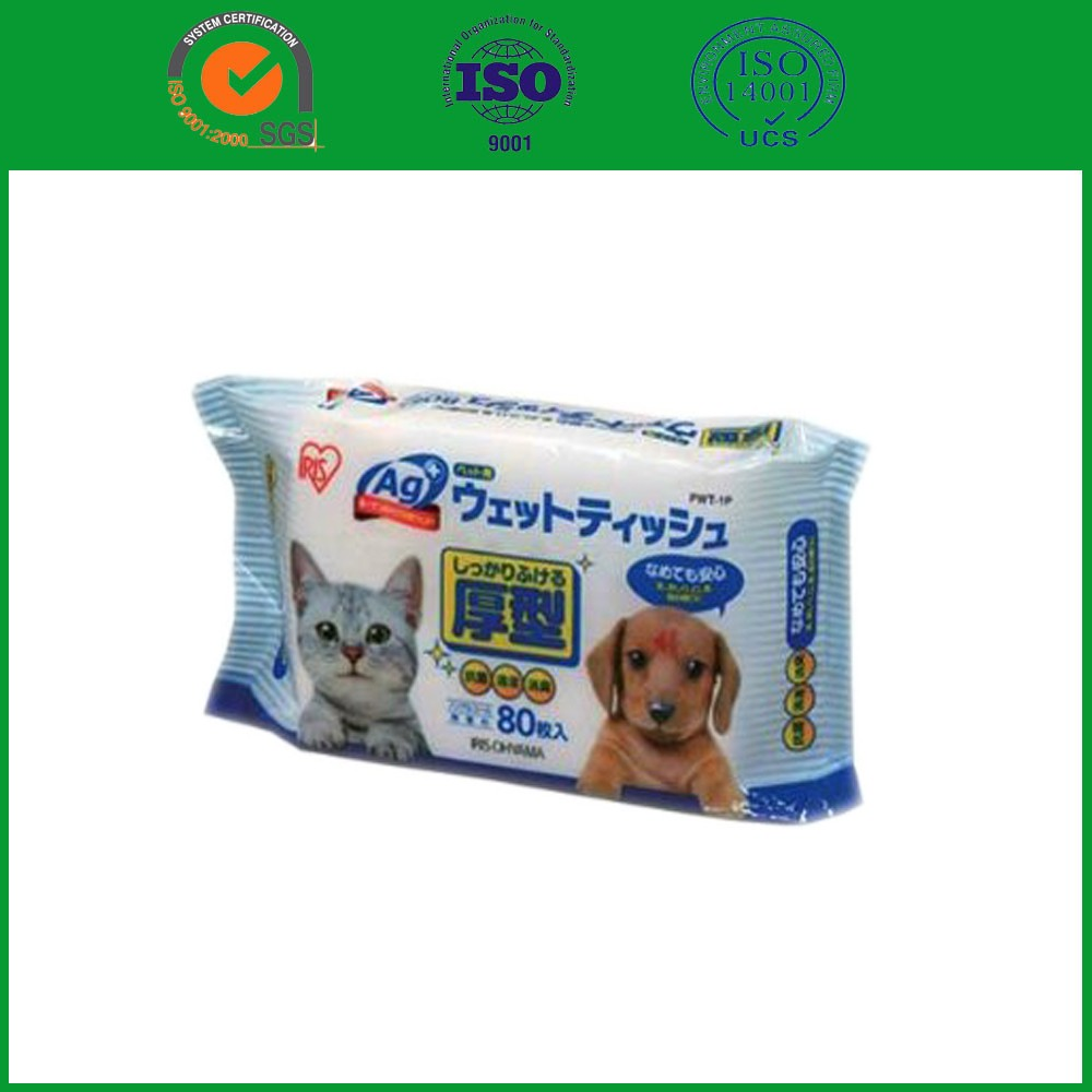 New design pet wet wipe dog grooming wipes with great price