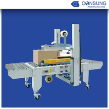 metal cans box packer and sealer machine