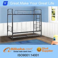Alibaba china metal detachable bunk bed for home