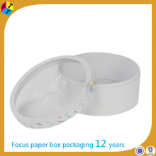 white round package paper hat shaped candy box