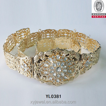 Wholesale Rhinestone Wedding Belt Popular Moroccan Belt