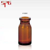 Hot sale top quality best price 8ml various amber pill glass container , amber glass bottle , european glass bottles