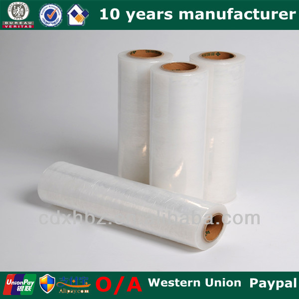 PE Film Roll Furniture Plastic Wrap
