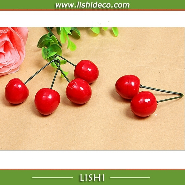 High Quality Best Artificial Fruit Fake Cherry