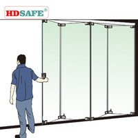new products glass folding door hardware made in china