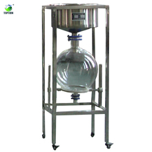 Laboratory 50L vacuum stainless steel filtration plant /purifying filter equipment