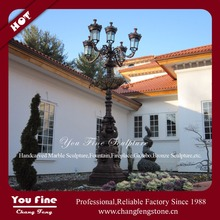 Decorative Cast Iron Street Light Pole