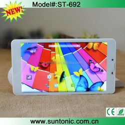 low cost 3g tablet pc with dual sim and GPS 6.95""