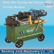 easy operation building industry construction steel bar rebar thread rolling machine
