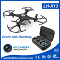 OEM Drone LH-X13H 2.4G RC Quadcopter Dron with 2MP HD Camera Racing Drone Kit with Handbag