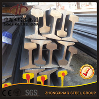 good quality DIN A75 steel rail with waist thickness 45mm