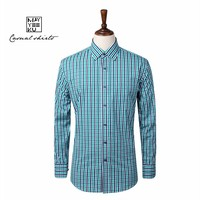 Free shipping wholesale and retail New Arrival Brand Plaid Men's Shirts, Men's Long Sleeve Shirts, Cotton Casual Shirt for Men