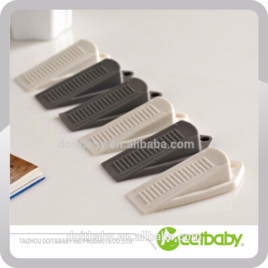Baby Safety Product Kid Plastic Door Stopper Removable PVC Door Stopper Wedge For Baby