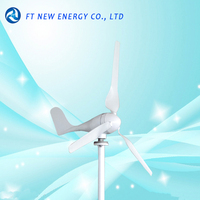 Mini portable wind turbine generator 100w