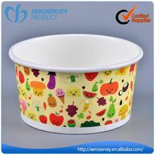 Hot selling OEM 2016 paper cup ice cream for restaurant