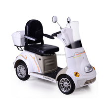 Four Wheel Cheap Electric Scooter Motorcycle for Disabled