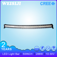 2016 Hot selling and factory directly supply 50 inch 50 inch 288W 4x4 Crees Led Car Light