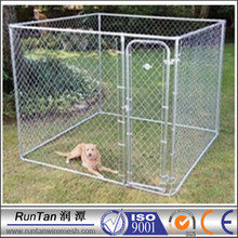 wholesale cheap large outdoor chain link dog kennel cage (factory)