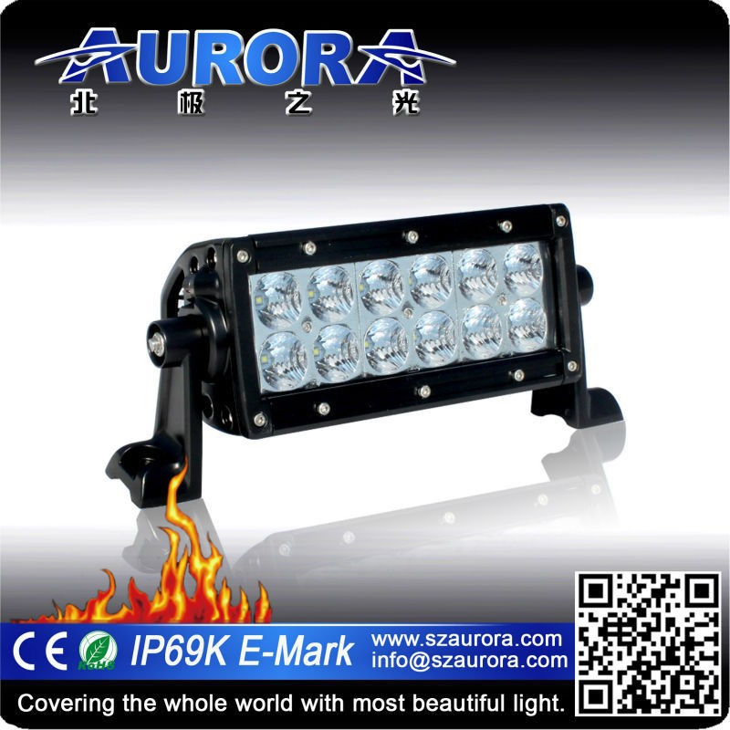"Moderate in price 6"" double row car led off road light bar"