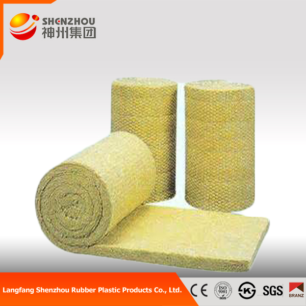 Fireproof rockwool insulation blanket price made in china for Fireproof rockwool