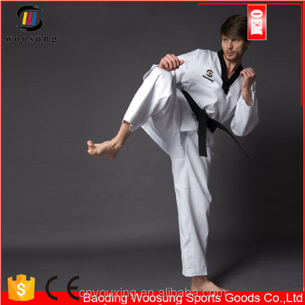 Martial arts clothing white taekwondo clothes