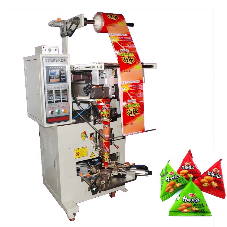 Shuliy March Expo sachet water filling seeds triangle tea bag packing machine
