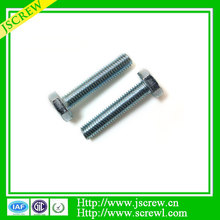 Factory directly m10x1.25 hex head stainless steel bolt