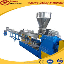 Granulator plastic twin screw extruder pellet making machine