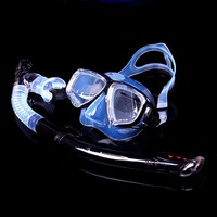 Factory high quality full face snorkel mask diving equipment mask and snorkel set