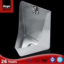 stainless steel male urinal for toilet