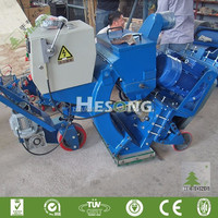 Mobile Type Concrete Pavement Shot Blasting Cleaning Machine Made In China