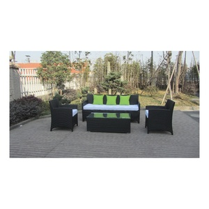 Evensun Indoor Outside Wicker Sofa Furniture For Outlet