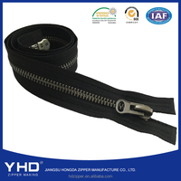 high quality two-way metal zipper